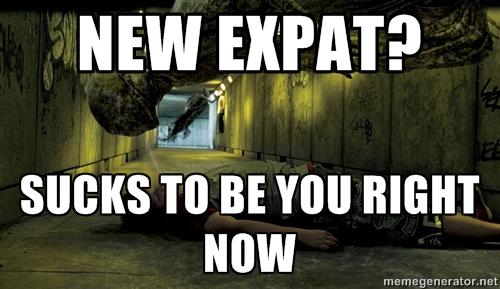 new expat