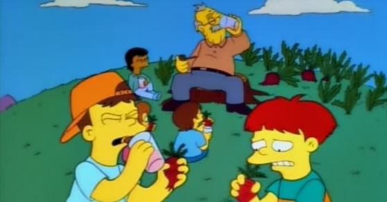 Simpsons turnip